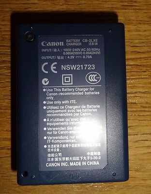 CANON CB-2LXE Battery Charger for NB-5L Batteries