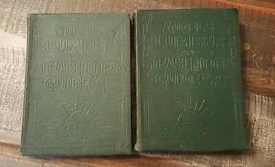 1925 Audels Plumbers And Steam Fitters Guide 1 & 2