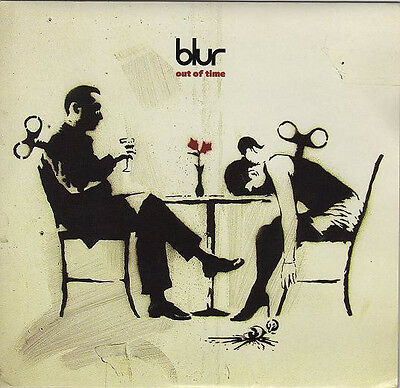 """Blur - Out Of Time - Limited UK 7"""" Vinyl Single With Banksy Sleeve"""