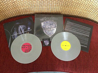 The Prodigy - Their Law Singles 1990-2005 - Sealed SILVER COLOURED Vinyl LP + DL