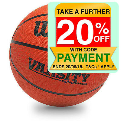 Wilson Varsity Performance Basketball - Official Size - 7/ Outdoor/Indoor Ball