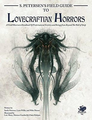 S Petersen's Field Guide To Lovecraftian Horrors SEALED Call Of Cthulhu Chaosium