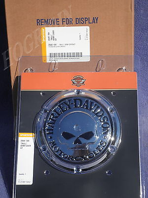 2004- 2017 Harley willie g skull derby cover sportster xl 883 1200   25440-04a