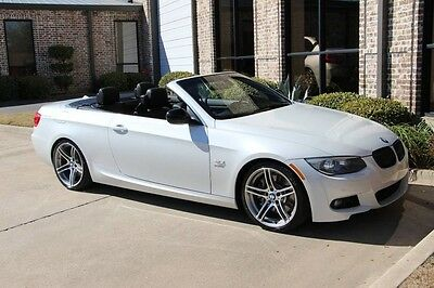 2012 BMW 3-Series Base Convertible 2-Door Mineral White Convenience Premium DCT Navigation Heated Seats 19s HK Sound More!