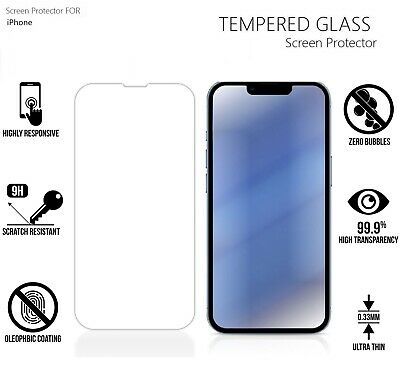 9H Real Tempered Glass Screen Protector for iPhone XS MAX / iPhone X / iPhone XR