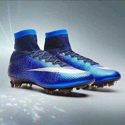 Mens Nike Mercurial Superfly Cr7 Fg Football Boots Size Uk 8 Natural Diamond