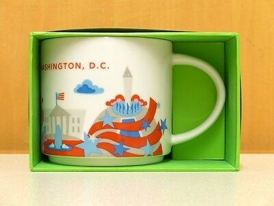 NIB Starbucks Washington DC City Coffee Mug (You Are Here)