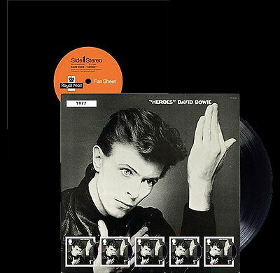 Gb 2017 David Bowie Sheet Heroes Pre Order Issue 14-3 See Details