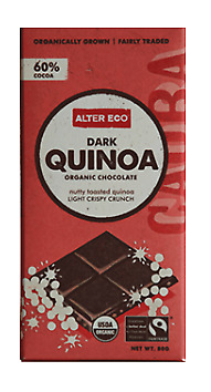 Alter Eco Organic Dark Chocolate & Quinoa 80g
