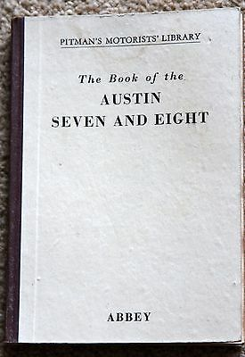 Austin Seven And Eight Book