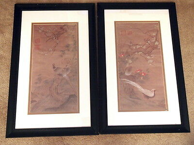 A Pair of reroduction of Old Chinese Paintings