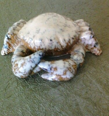 Ceramic decorative crab