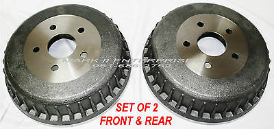 1961-1969 Lincoln Brake Drums Front Or Rear - New Reproductions (Pair)
