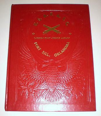 Army Ft. Sill Field Artillery Basic Training Yearbook