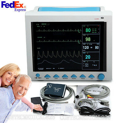 Hot Promotion ICU CCU Patient Monitor Vital Signs Monitor 6 Parameters,US Seller