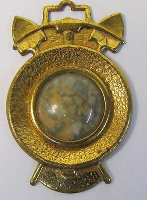 1940 TOM MIX GOLD ORE WATCH FOB Ralston Cereal radio show premium.  high grade
