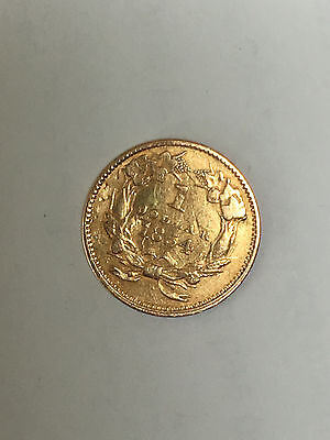 1854-Type-2-Indian-1 Dollar-Gold-Coin-