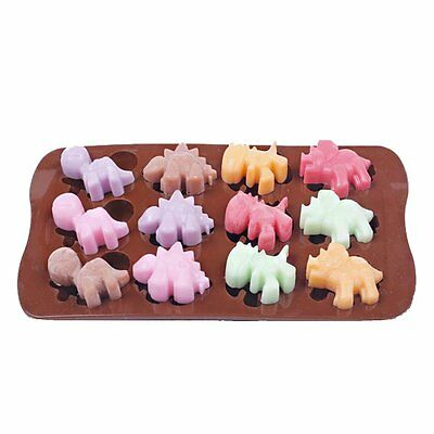 Silicone Mold Chocolate Ice Cube Tray Fondant Molds DIY SOAP Mould Jello Candy
