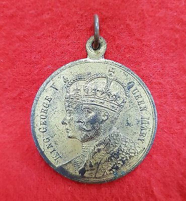 Medallion King George V & Queen Mary Coronation 1911 Medal