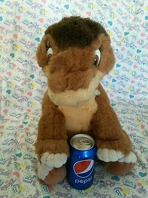 "Vintage 1988 Gund Land Before Time Littlefoot Dinosaur Stuffed Toy Plush 16""!!"