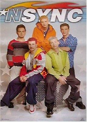 1999 NSYNC STARS POSTER FUNKY #7548 NEW 22x34 FAST FREE SHIPPING