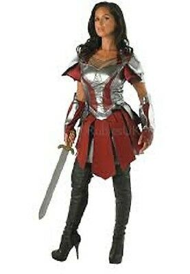 Ladies Costume Fancy Dress Up Sif Deluxe Thor The Dark World size Large 12-14
