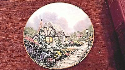 Chandler's Cottage by Thomas Kinkade Premier Issue Garden Cottages of England