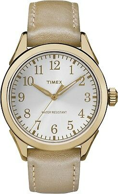 Timex Women's TW2P99300GP Style Elevated Gold Dial Wrist Watch Modern style New