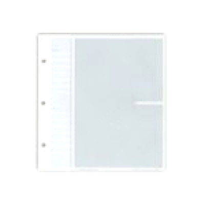 """Pioneer Bonded Leather 3 Ring Photo Album Refill, 20 Pages Holds 40 4x6"""" Photos,"""