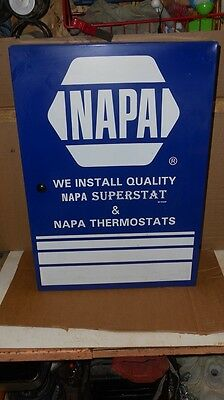 Original Napa Superstat Thermostat  Automobile Parts Cabinet Service Station