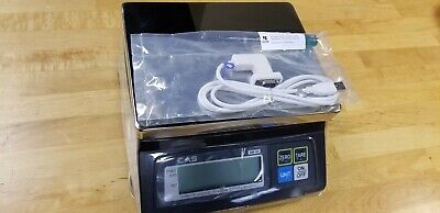 """CAS SW-RS (20LB) SW-1 RS Series POS Interface Portion Control Scale """"New"""""""