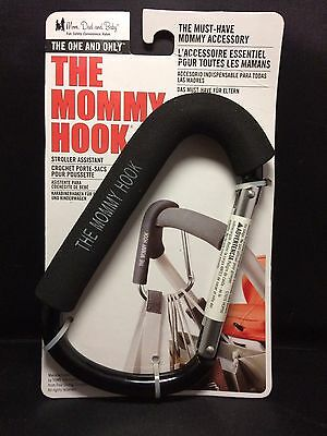 The Mommy Hook Stroller Accessory Black