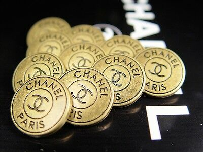 Chanel Buttons gold 100% Authentic