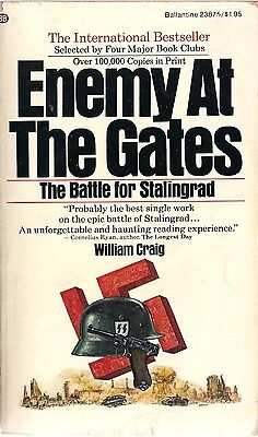 Enemy at the Gates by William Craig (1974 first edition) (Stalingrad)