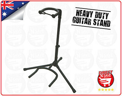 Guitar Stand Folding Tripod Acoustic Electric Bass Adjustable Rack Holder