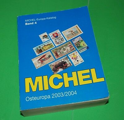 Michel 2003-2004 Europe Osteuropa Catalogue Katalog Stamps, Book yy