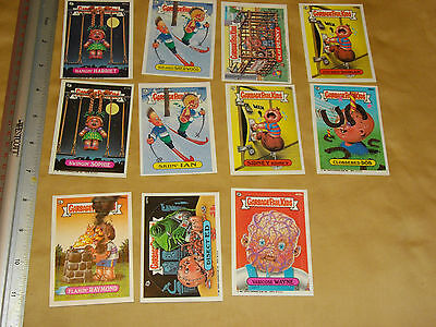 garbage pail kids  card lot 2 sold as seen stickers