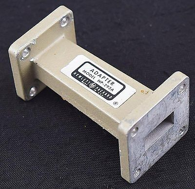 HP/Agilent NP-292A Microwave Waveform Frequency Waveguide WR51 to WR62 Adapter