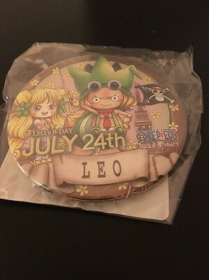 One Piece Tokyo Tower Leo Birthday Can Badge