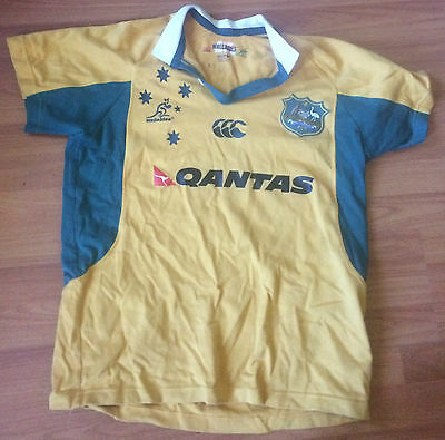 Rugby union Wallabies Jersey (size M)