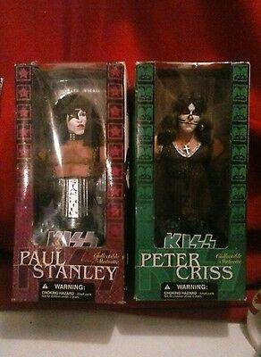 KISS McFarlane Collectible Statuette Bust Peter Criss Paul Stanley
