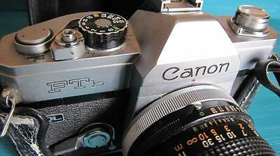 1970's Canon FTB QL Camera in Leather Case from Japan
