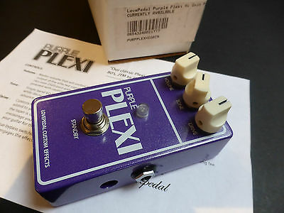 Lovepedal Purple Plexi Effects Pedal