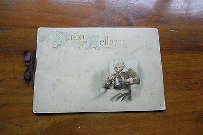 Simon the Cellarer. Castell Brothers. Printed in Bavaria. 1930s-1940s.
