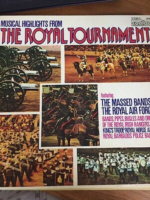 Musical Highlights From The Royal Tournament Contour 2870357 Vinyl Lp