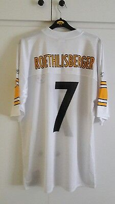BNWT Pittsburgh Steelers Vintage Jersey No 7 Roethlisberger Size L