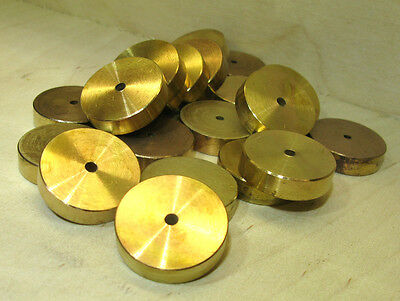 O Gauge & Other Gauges - (5) Five Brass Weights. (Photo Shows More Than Ten).