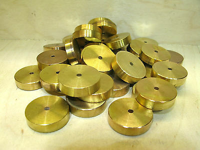 O Gauge & Other Gauges - (50) Fifty Brass Weights.