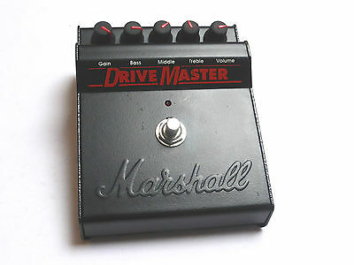 Marshall Drive master Effects Pedal Vintage Made In England