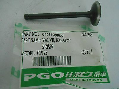New Genuine PGO CP-125 Buddy 125 Exhaust Valve PN C1071200000